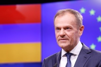 President Tusk meets Prime Minister of Armenia Copyright: European Union Date: 05/03/2019 Location:Bruxelles - BELGIQUE